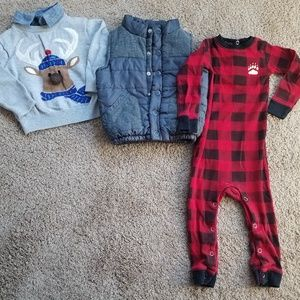 Toddler boy 18 month Fall/Winter lot